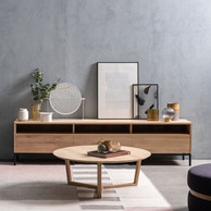 Ethnicraft buffet et table basse