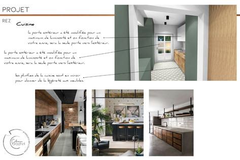 Architecture d'intérieur - cuisine-Arlon