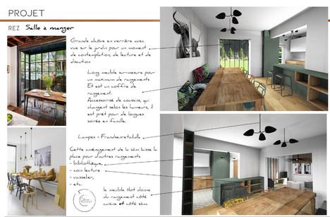 Architecture d'intérieur - salle-à-manger-Arlon