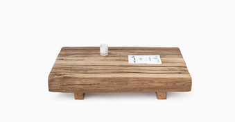 atmosphère bois - table basse