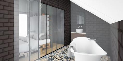 salle de bain ouverte sur la chambre-Heinstert.JPG