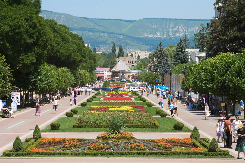 Курортный бульвар Кисловодска