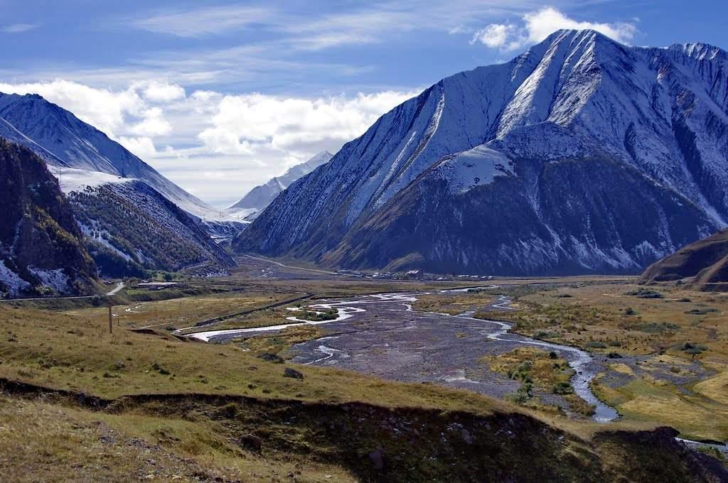 Байдарское ущелье. Долина  рек Терек
