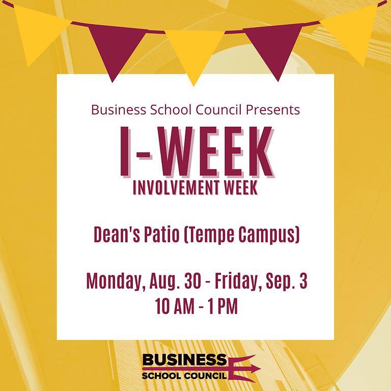 I-Week at Dean's Patio (Tempe Campus)