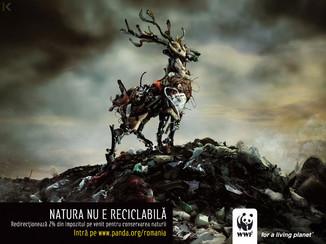 Рекламные плакаты для WWF (Всемирный фонд дикой природы)