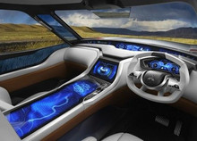 Дизайн авто будущего. внутри...
