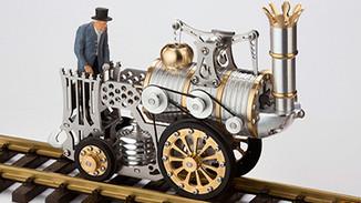 Самоходные механические игрушки. Еще немного из близкого к стимпанку.