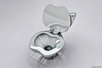Вот Вам, и доигрались))) Туалет iPOO для поклонников Apple