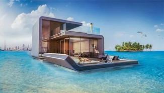 Самые удивительные сегодня проекты домов на воде.
