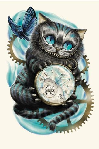 Чеширский кот. Как же он выглядит