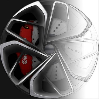 Автомобильные колеса.  Новые концепты, решения, идеи