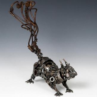 Животные из старых запчастей от Джеймса Корбетта