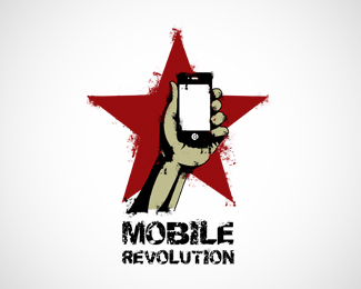 Логотипы компаний мобильных приложений, магазинов и сервисов мобильных телефонов,