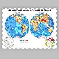Стенд в кабинет географии