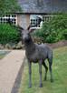 Скульптуры животных сделанные из сетки рабицы от KENDRA HASTE