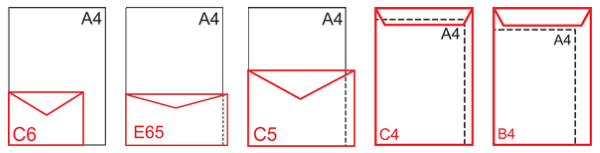 Печать фирменных конвертов во Владимире