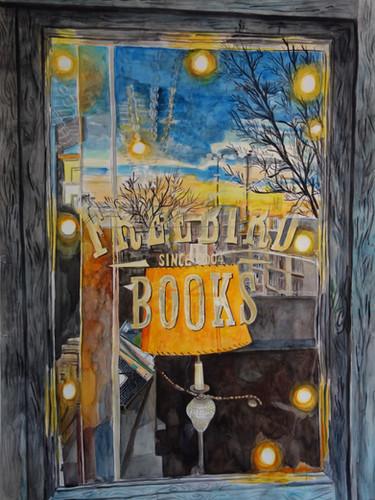 Inside Outside Freebird Books (Red Hook, Brooklyn)