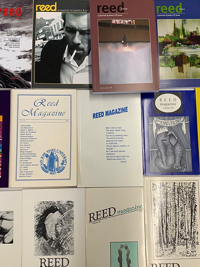 Vintage Reed: Issues 65, and earlier
