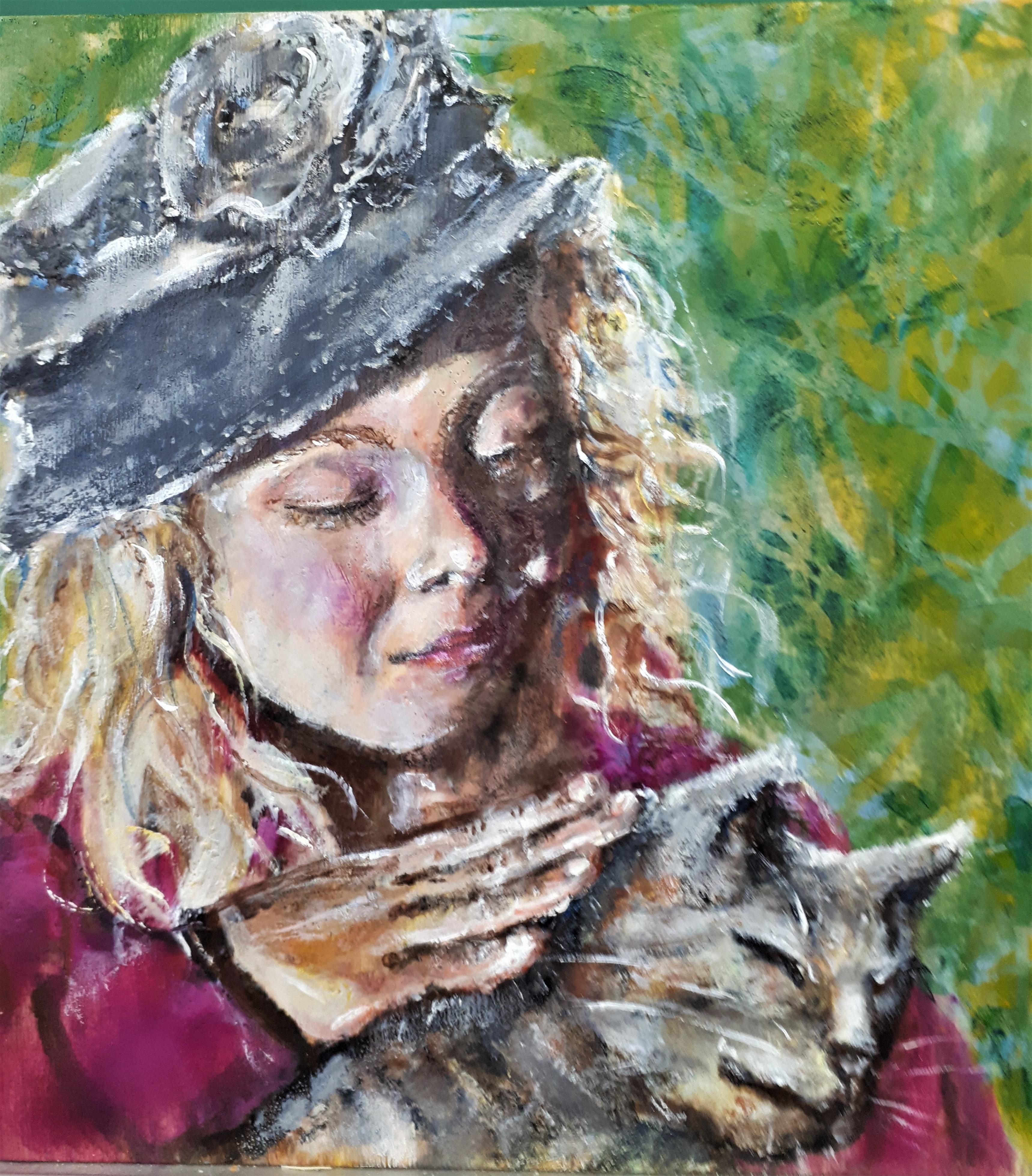 Charlotte Petting Cat