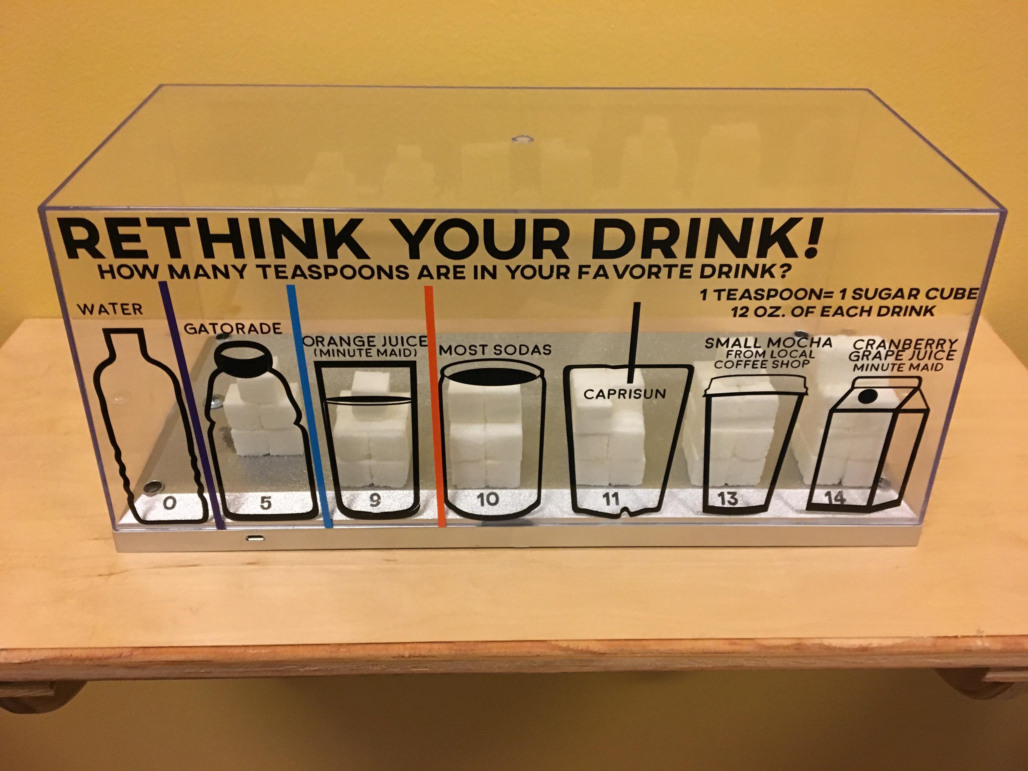 Rethink Your Drink & Sugar