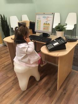 Toddler at Kid Time Dental