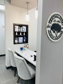 Central Point Family Dentistry check out desk