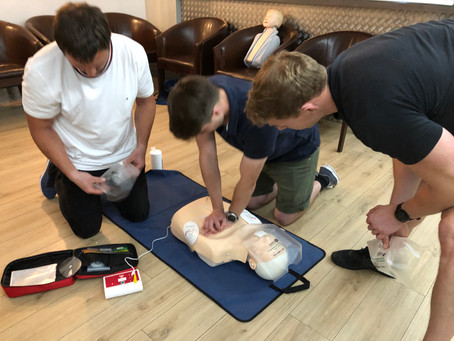 Changes in CPR for first aiders due to COVID-19