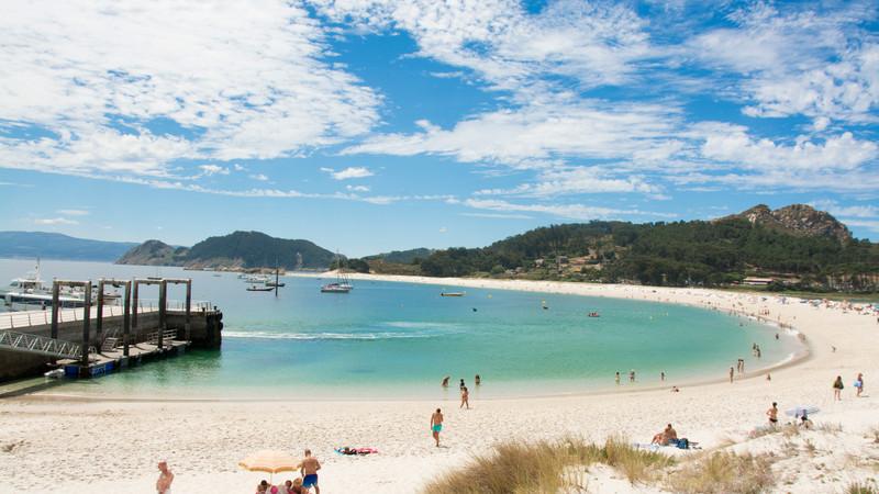 Islas Cíes, Pontevedra, Galicia, España