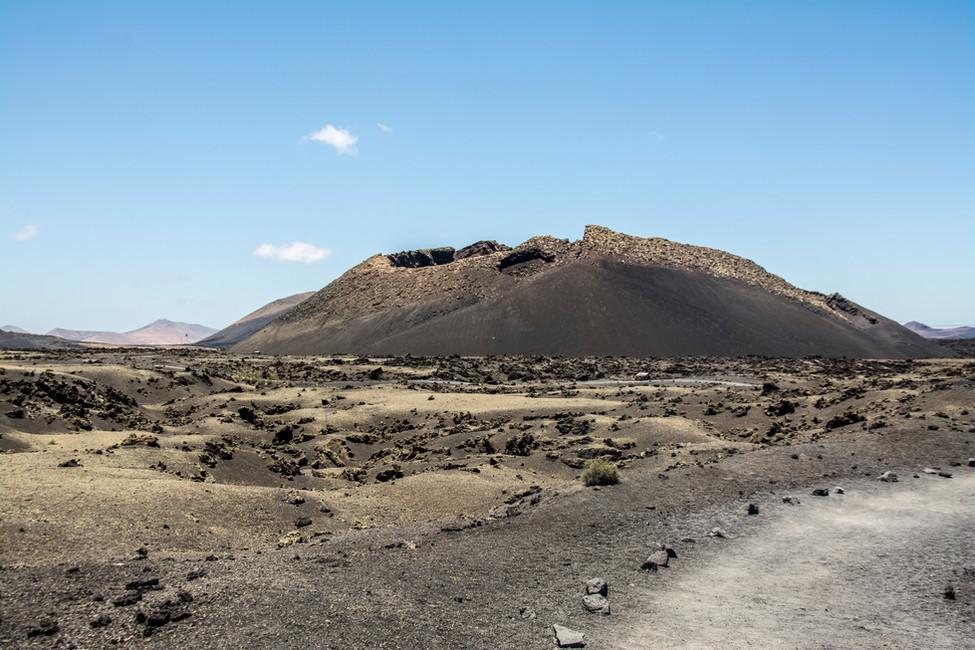 Volcán Lanzarote, Islas Canarias, España.