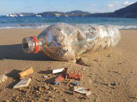 El Mar Mediterráneo, un paraíso de plástico.