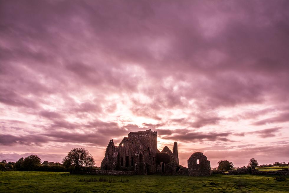 Rock of Cashel, Irlanda.