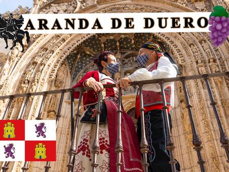 Que ver, hacer y sentir en ARANDA DE DUERO, capital de la Ribera del Duero.