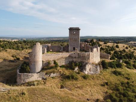 El Cañón del Río Lobos y el castillo de Ucero, entre templarios, duendes y leyendas castellanas