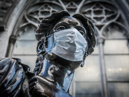 Dublín a través de sus estatuas durante el COVID19