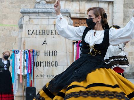 Una tarde castellana en el pueblo burgalés de CALERUEGA. VIII centenario de Santo Domingo de Guzmán