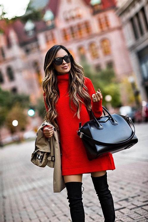 Sweater Polera Amplio