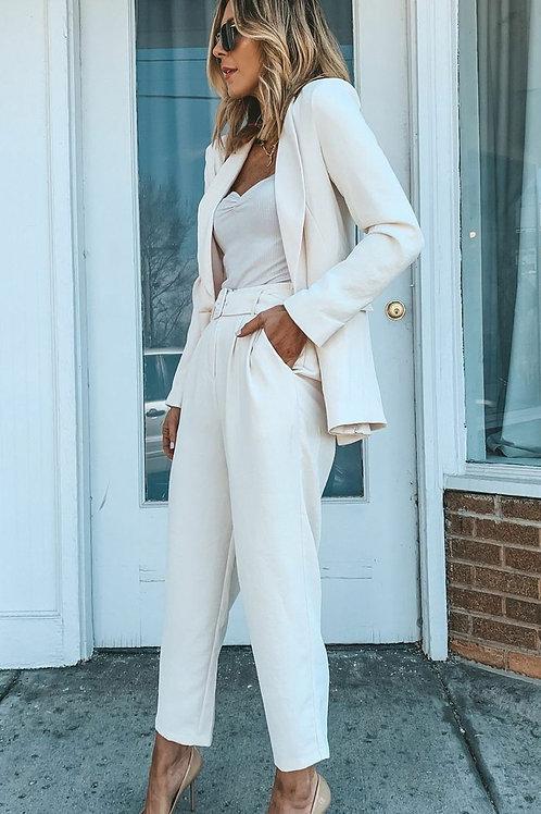 Conjunto Pantalón Pantalón y Blazer De Mujer Sastre Importado