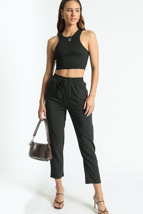 Babucha De Mujer Color Negra Casual Vestir