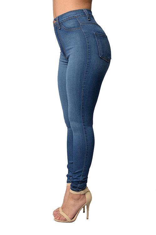 Pantalón Jeans Azul Importado