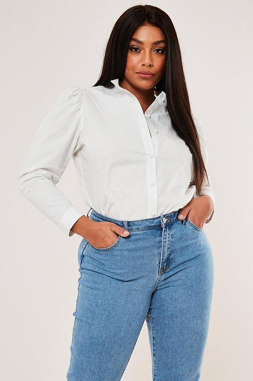 Pantalón Jeans Azul Claro Súper Tiro Alto Talles Especiales