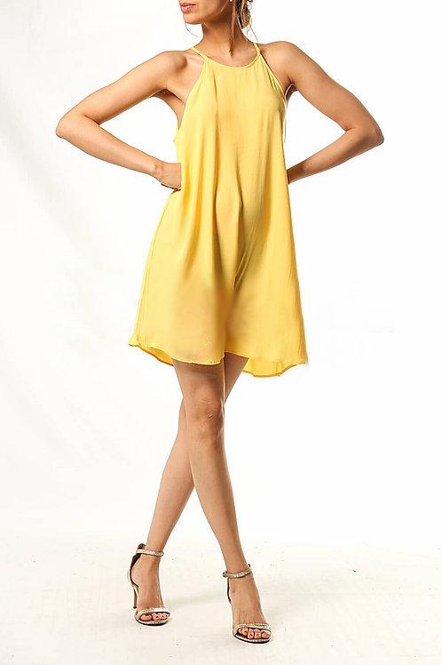 Vestido Morley Amarillo de Mujer