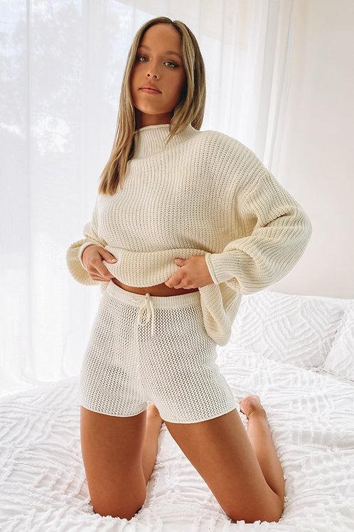 Sweater Importado Nordico Marfil