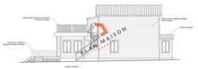 plan de maison facade 2