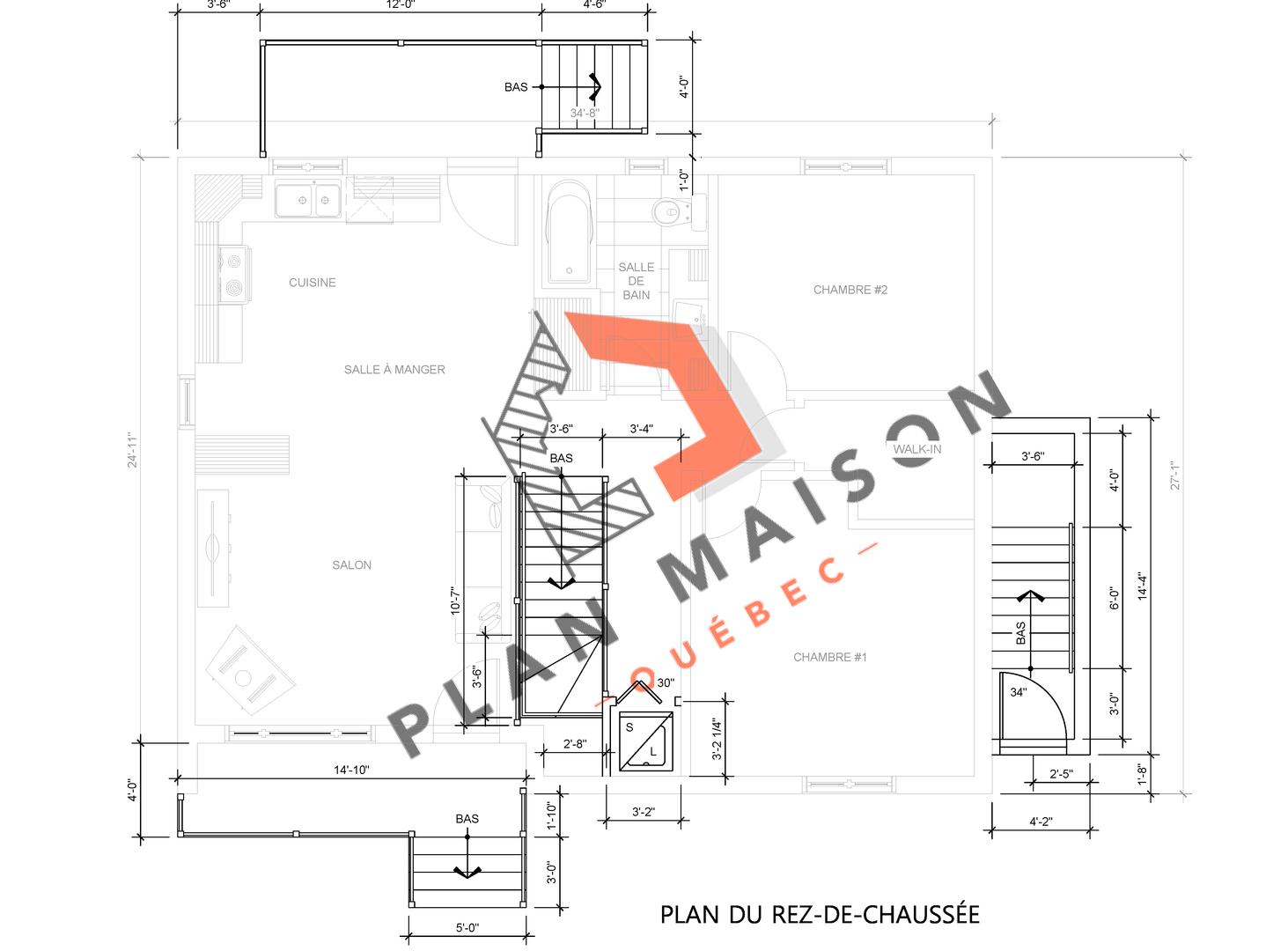 modifier un plan de maison 11