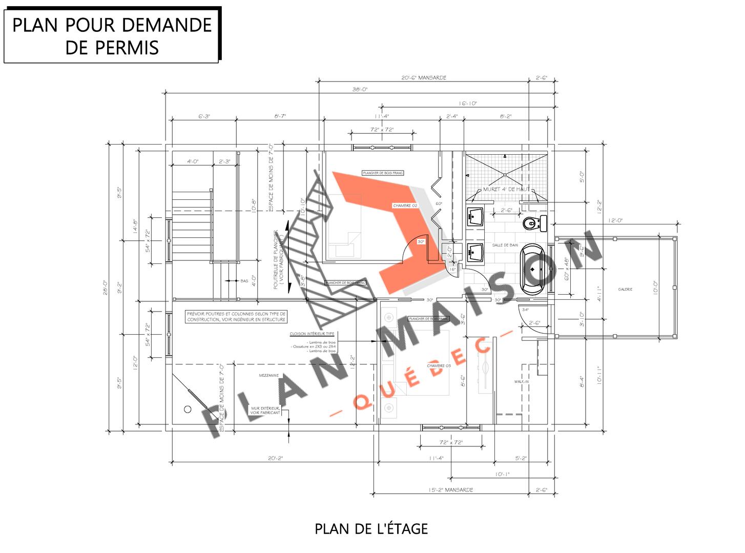 plan de construction 5
