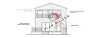plan de maison facade 3