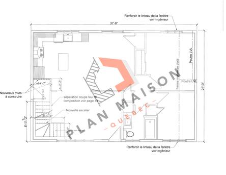 plan amenagement maison 11