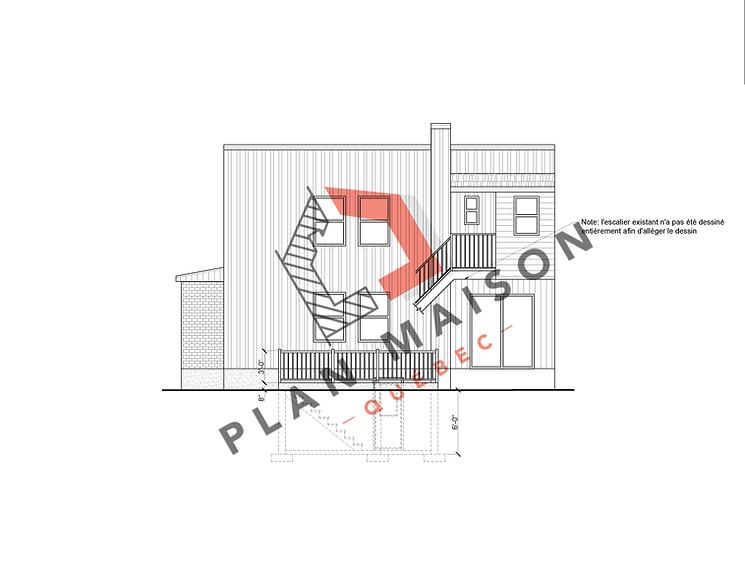 un plan de construction