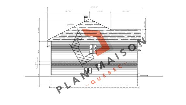 plan de maison plain pied 2