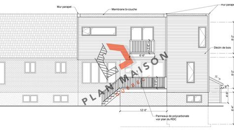 Technicien en architecture plan de maison
